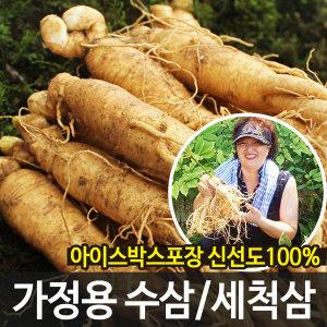 가정용 햇 수삼 세척인삼 난발삼 35뿌리이상(700g)