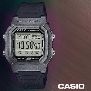 W-800HM-7A 남성시계 우레탄밴드 손목시계