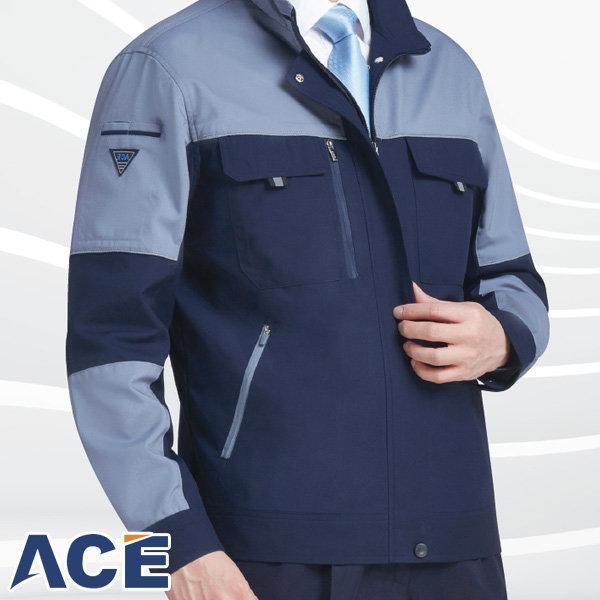 에이스 유니폼 ACE-1903 춘추 점퍼 단체 근무 작업복