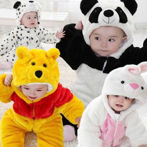 귀여워 팬더 우주복+동물우주복+패딩우주복+유아패딩