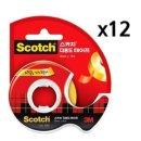 3M 테이프 다용도 스카치테이프 1갑(12개) 투명테이프