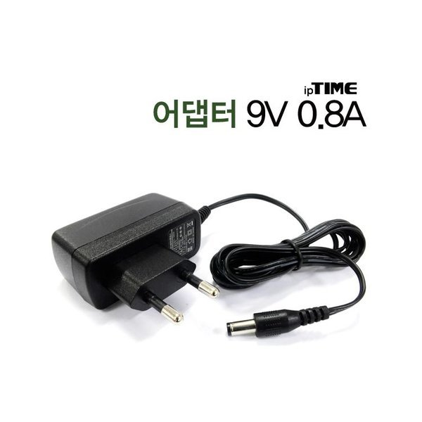 ip TIME 9V-0.8A Adapter
