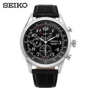세이코 SEIKO  SPC133P1 / 43mm크로노그래프 가죽시계