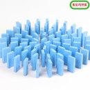 무지개 원목 도미노100pcs 리필용(파랑)