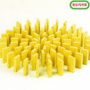 무지개 원목 도미노100pcs 리필용(노랑)