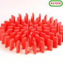 무지개 원목 도미노100pcs 리필용(빨강)