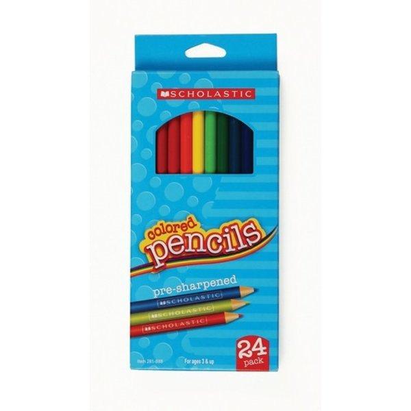 색연필 24색(SCHOLASTIC)