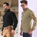 밀리터리 전술 택티컬 컴뱃 서바이벌 티 셔츠 집업
