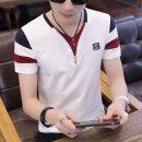 남자 반팔 티셔츠 여름티 기본티 브이넥 빅사이즈wm33