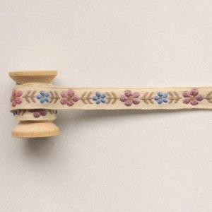 (도토리클래스)핑크브라운로즈 에스닉리본 90cm