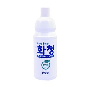 화장실세정제 화청1리터x12개 친환경 욕실변기청소