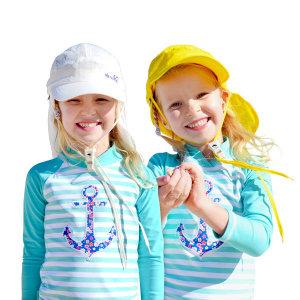 UV 플랩캡 자외선차단모자 썬캡 물놀이모자 여름모자
