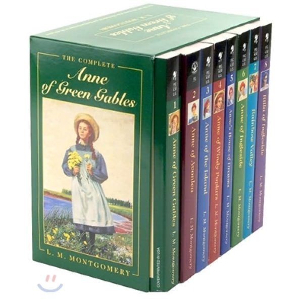 The Complete Anne of Green Gables Boxed Edition  Lucy Maud Montgomery
