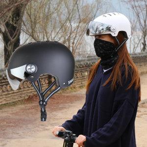SR 어반 고글헬멧 자전거 전동킥보드헬멧 스컬 헬멧