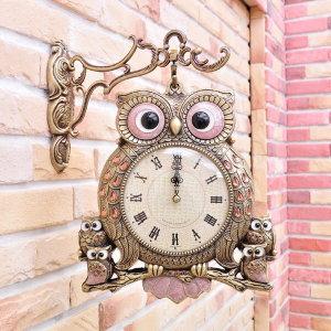BnH 물방울 부엉이벽시계 양면시계 CL_9460