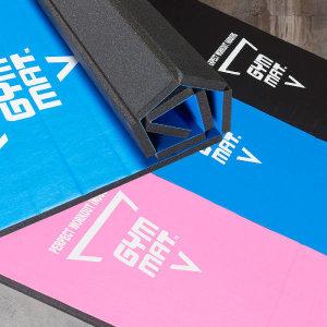 (현대Hmall)바디엑스 짐매트 GYM MAT 블루 핑크 블랙 택1