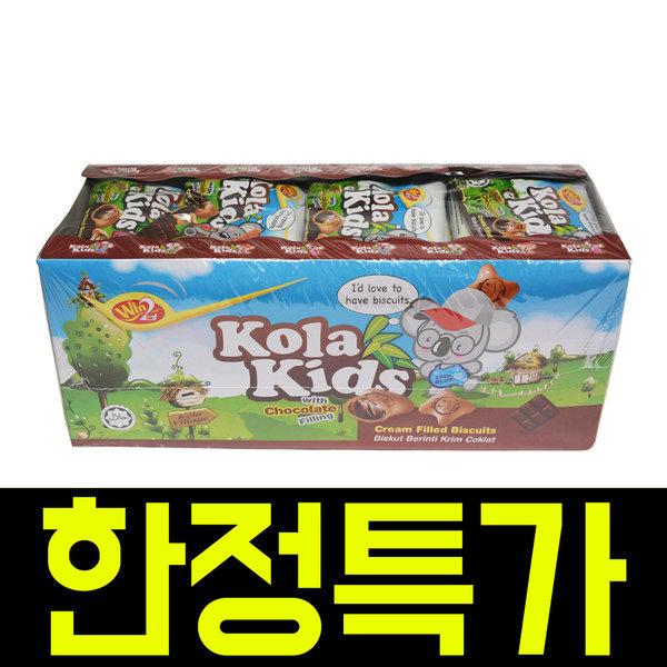위니 코라키즈 초콜릿맛 432g(24개입) /수입과자/간식