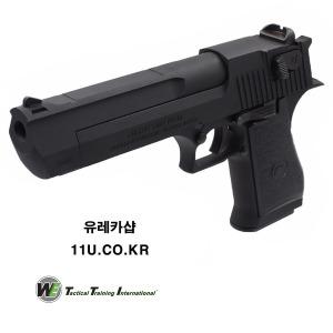 데저트이글 풀메탈 블랙 가스총 WE GBB GAS GUN
