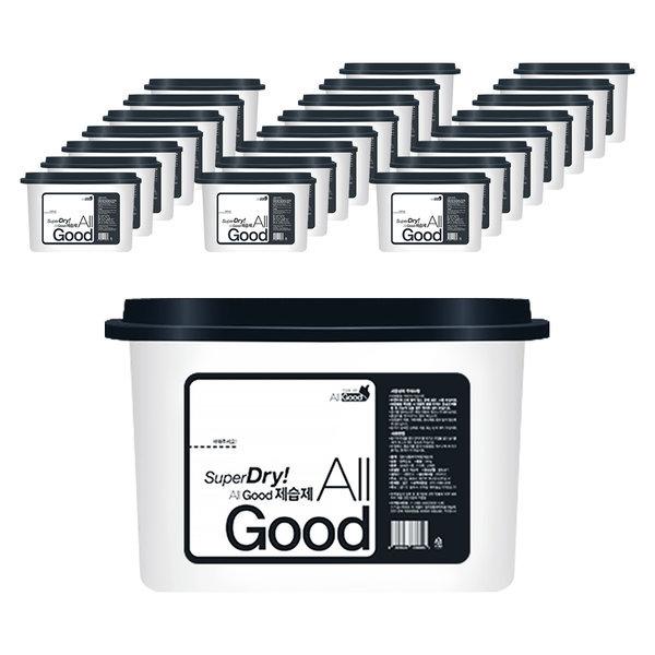 물먹는제습제/습기제거제/방습제/염화칼슘 24개입525ml