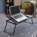 OMT 6단각도조절 좌식 노트북 거치대 책상 ONA-A2 블랙