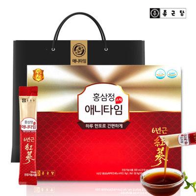 [종근당] 홍삼정 애니타임 1박스 /추석 선물세트 명절선물