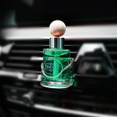 프리티 송풍구 디퓨져 방향제차량용 그린애플/차향수