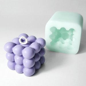 미니 큐브 수제 몰드 캔들 향초 석고방향제