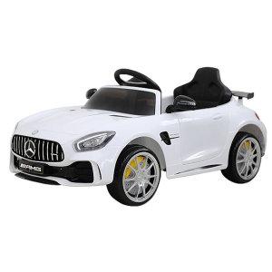 벤츠 GTR 유아 전동차 화이트 아기자동차