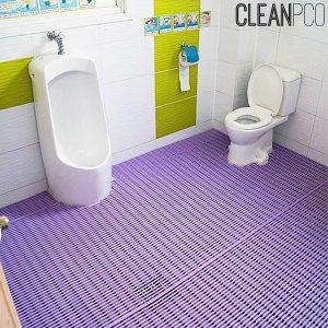 욕실 미끄럼방지매트(세로고정) 120cmx2m 바닥미끄럼