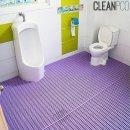 욕실 미끄럼방지매트(세로고정) 120cmx1.5m 방지매트