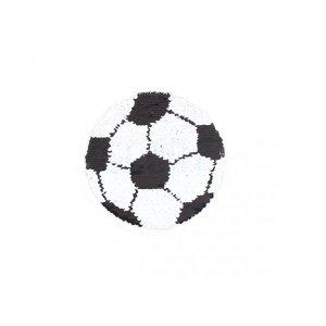 축구공 반전 스팽글 와펜 SP-246 직경 18cm