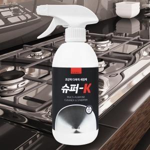 슈퍼-K 초강력 다목적세정제 후드청소 기름때제거