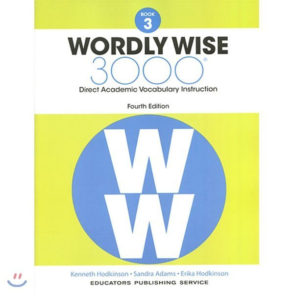 Wordly Wise 3000 Grade 3  4 E  Hodkinson  Kenneth  Adams  Sandra  Hodkinson  Erica  Educators Pub...