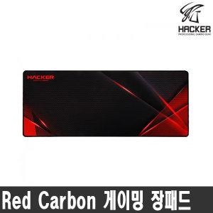 앱코 해커 Red Carbon 게이밍 장패드 ㅡ스마일배송ㅡ
