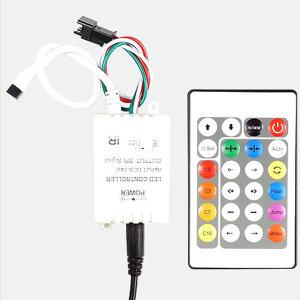 네오픽셀 스노우펄 RGB LED전용 모듈+무선리모컨