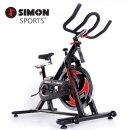 사이먼 스핀바이크 SB2/스피닝 사이클 헬스 자전거