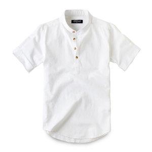 반팔 린넨 헨리넥 셔츠 남방 191. 남자셔츠 남자남방