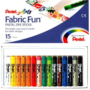 Pentel fabric fun 펜텔 패브릭 펀 15색  옷그림 파스