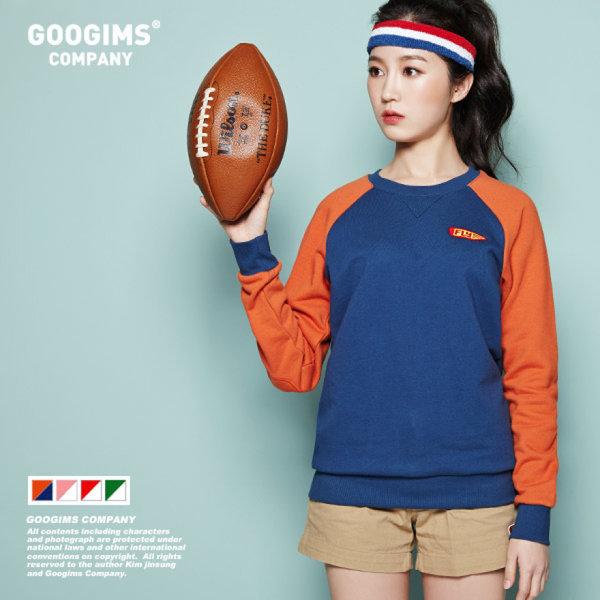 1125_ 플라이 나그랑 맨투맨 티셔츠 (G13SMRT205)