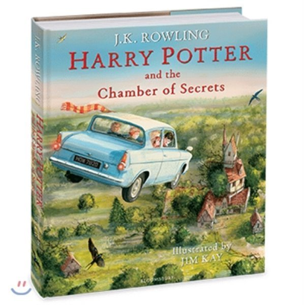Harry Potter and the Chamber of Secrets : Illustrated Edition (영국판) : 해리포터 일러스트 판...