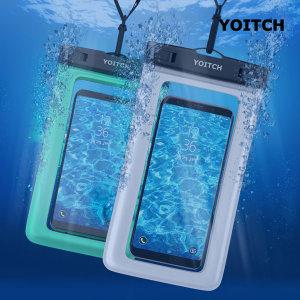 1+1 핸드폰 휴대폰 방수팩 레릭 - 화이트+민트