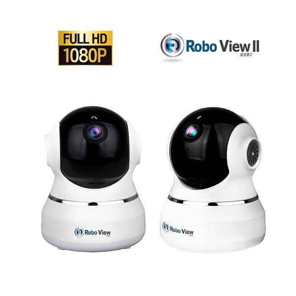 로보뷰2 IP카메라 해킹방지 CCTV 200만화소 홈캠 풀HD