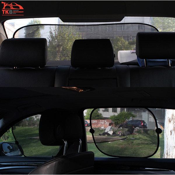 TKB 썬쉐이드 블랙 차량용 햇빛가리개 기본형