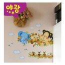 요모조모 꾸미기 스티커 나무타기 FDT-4207 어린이용