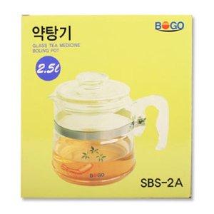 약탕기2500ml SBS-2A 눈금약탕기 가정용약탕기 투명약