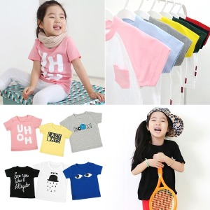 코코바닐라 여름 아동 반팔 티셔츠 유아 아동복 의류