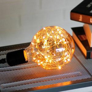 LED 에디슨전구 은하수 볼전구 G125 2W YD
