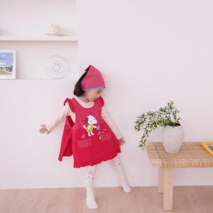 유아앞치마+두건 어린이집준비물 미술 요리