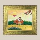 고향풍경 풍경화 그림액자 유화그림 풍수그림 3호