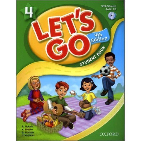 4판 Let s Go 4 : Student Book with CD  Ritzuko Nakata  Karen Frazier  Barbara Hoskins  Carolyn G...